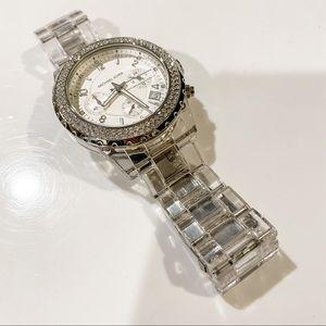 Michael Kors lucite bracelet watch